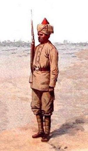 91st Punjabis (Light Infantry) - Image: 31st MLI