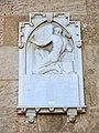 355 Torres dels Serrans (València), placa en record a Pere Balaguer, autor de l'obra.jpg