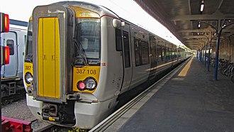 King's Lynn railway station - Great Northern Class 387 at King's Lynn