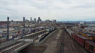 38th & Blake station
