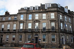 George Combe - 45 Melville Street, Edinburgh