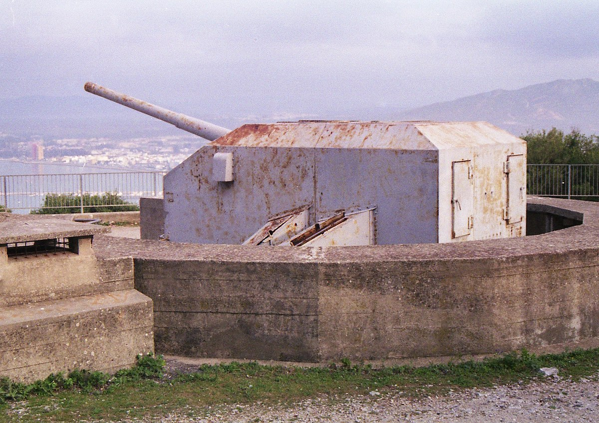 Fortifications Of Gibraltar Wikipedia