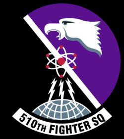 510 Fighter Sq Emblem