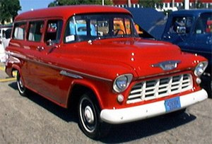 English: 1955 Chevy Suburban