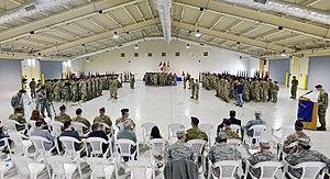 601st Quartermaster Company - Image: 601st Reactivation Ceremony
