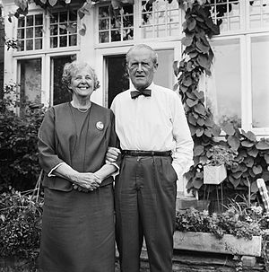 Johan Bernhard Hjort - Johan Bernhard Hjort and his wife Anna Cathrine, Bestum (1967)