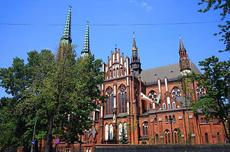 Praga - The Basilica of St. Michael and St. Florian is one of Praga's main churches