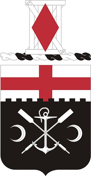 7th Engineer Battalion (United States) - Coat of arms