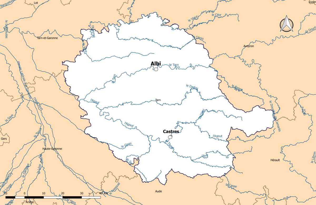 le tarn fleuve