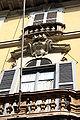 8957 - Milano - Stemma Palazzo Visconti di Grazzano (sec. XVIII) - Foto Giovanni Dall'Orto 22-Apr-2007.jpg