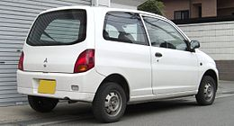 8th generation Mitsubishi Minica rear.jpg