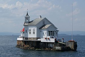 A1 Lighthouse in the Oslo Fjord Norway.JPG