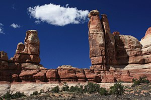 Canyonlands National Park - Chesler Park in the Needles