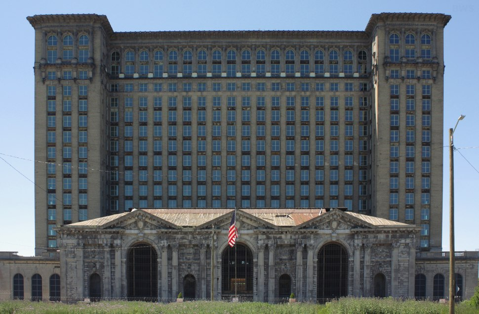 A445, Michigan Central Station, Detroit, Michigan, United States, 2016