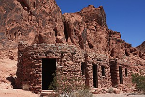 Valley of Fire State Park - Civilian Conservation Corps cabins