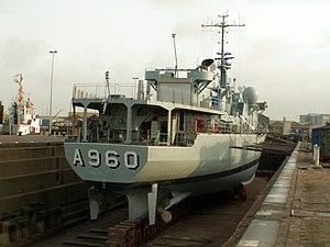 A960 in Drydock p8, Antwerp, Belgium.JPG