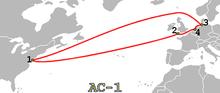 Schematische Darstellung des Seekabels AC-1
