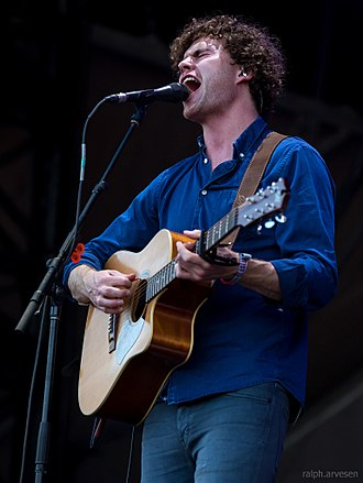 Vance Joy - Joy at the Austin City Limits Music Festival in Austin, Texas in 2015