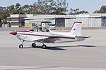 AESL Airtourer Super 150 (VH-EQG) taxiing at Wagga Wagga Airport.jpg
