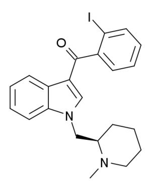 AM-2233 - Image: AM 2233 structure