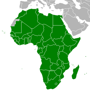 Association of National Olympic Committees of Africa - Image: ANOCA Members