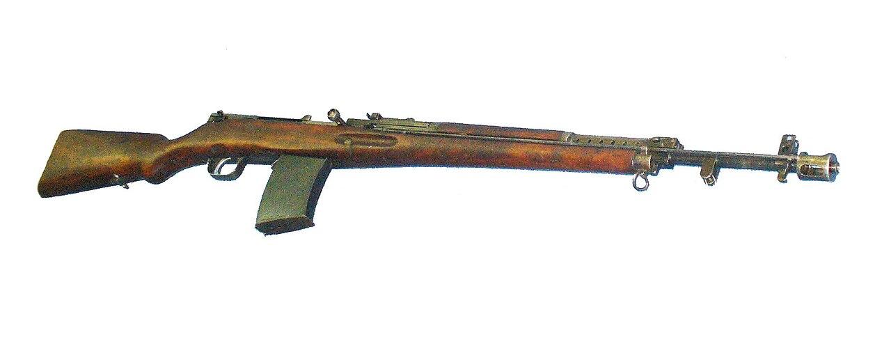 симонова винтовка
