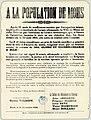 A La Population de Mons. Après 51 mois de souffrances causées par l'occupation inique.. (12504016483).jpg