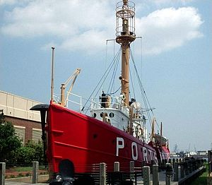 United States lightship Portsmouth (LV-101) - Lightship Portsmouth (LV 101)