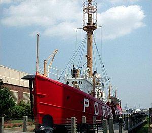 United States lightship Portsmouth (LV-101) - Lightship Portsmouth (LV 101)
