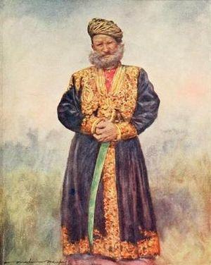Rajgarh State - A Rajput ruler of Rajgarh