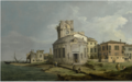 A VENETIAN CAPRICCIO VIEW OF AN OVAL CHURCH BESIDE THE LAGOON.PNG