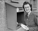 A Waaf Postmistress at Fighter Station CH8409.jpg
