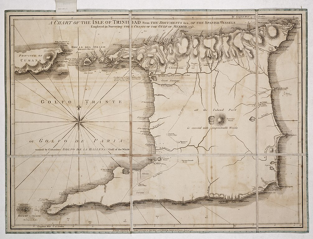 File:A chart of the Isle of Trinidad from the documents &ca. of ...
