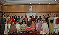 A delegation of Indian Women Press Corps.(IWPC) called on the Vice President, Shri Mohd. Hamid Ansari, in New Delhi on December 22, 2009.jpg