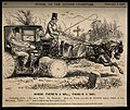 A doctor changing into hunting clothes in his carriage while Wellcome V0011379.jpg