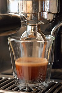 A good cappuccino starts with a perfect espresso!! (4441914182).jpg