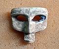 A mask-like ivory with lapis lazuli. Nimrud ivory. Sulaymaniyah Museum.jpg