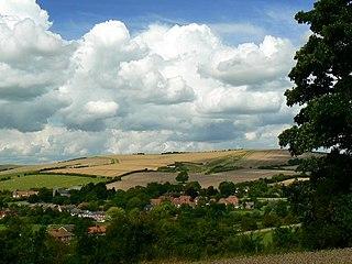 Ogbourne Maizey village in United Kingdom