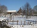 A wintry scene at Rock Farm - geograph.org.uk - 1652398.jpg