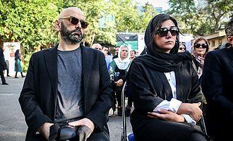 Baran Kosari - Kosari in Funeral of Abbas Kiarostami