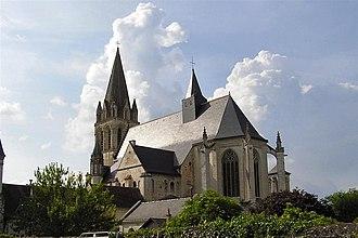 Beaulieu-lès-Loches - Abbey church