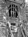 Abbaye Saint-Bénigne (ancienne) ; Musée archéologique - Dortoir des moines bénédictins - ancienne baie de la façade est étayée - Dijon - Médiathèque de l'architecture et du patrimoine - APMH00019098.jpg