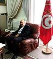 Abderrahmane Ladgham, bureau Tunis 2013.jpg