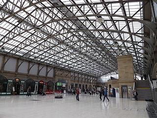 Aberdeen railway station Railway station in Aberdeen City, Scotland, UK