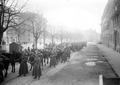 Abgesessene Dragoner während Landesstreik auf Bubenbergplatz - CH-BAR - 3241478.tif