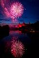 Abschluss Feuerwerk Volksfest Aschaffenburg 2014 (14559858012).jpg