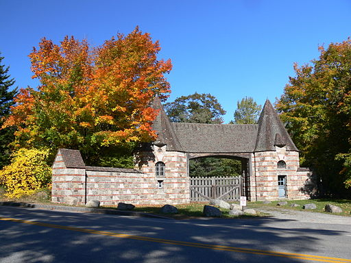 Acadia National Park Gatehouse, Northeast Harbor, Maine