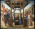 Accademia - Natività tra i ss. Giacomo ed Eustachio, Nicolò e Marco di Lazzaro Bastiani.jpg