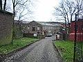 Access road to Wellfield Mill, Blackburn - geograph.org.uk - 724303.jpg