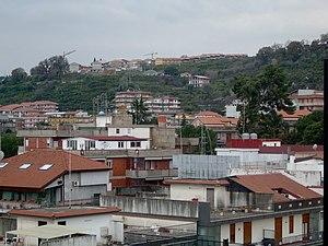 Aci Catena - Image: Acicatena hills